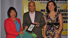 by PICPA Cebu President Lourdes O. Cambonga and Past President Rosanna J. Arcenas